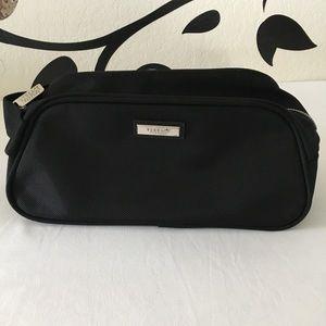 Versace black toiletries/cosmetics bag